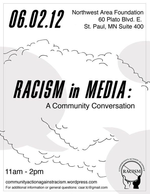Racism in Media: Flyer